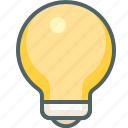 bulb, creative, design, electric, electricity, idea, lightbulb icon