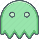 dead, face, ghost, halloween, monster, pacman, scary icon