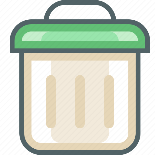 bin, delete, dustbin, garbage, recycle, remove, trash icon