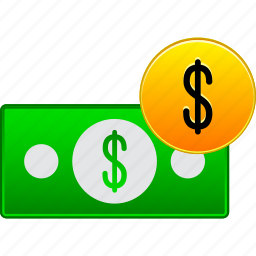business, cash, coin, currency, dollar, finance, money icon