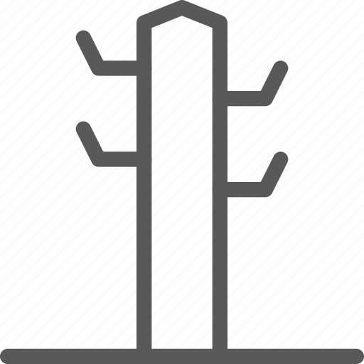 clothes, coat, furniture, hang, object, rack icon