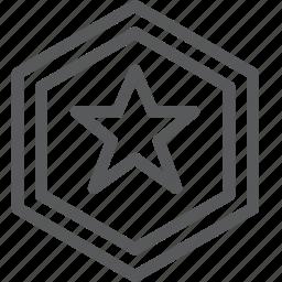 battle, captain america, coin, defence, hexagon, safe, shield, star icon