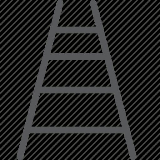 ascend, climb, construction, descend, equipment, ladder, object icon