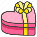 1f381, b, gift, wrapped icon