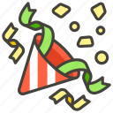 1f389, party, popper icon