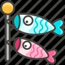 1f38f, carp, streamer icon