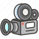 1f3a5, camera, movie icon