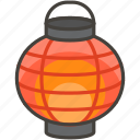 1f3ee, lantern, paper, red icon