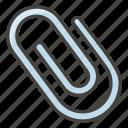 1f4ce, paperclip icon