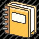 1f4d2, ledger icon
