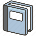 1f4d3, notebook icon