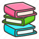 1f4da, books icon