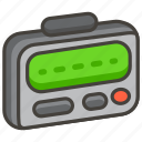 1f4df, pager icon