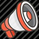 1f4e2, loudspeaker icon