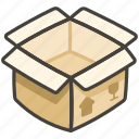 1f4e6, b, package icon