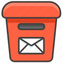 1f4ee, postbox icon