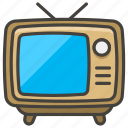1f4fa, a, television icon
