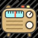 1f4fb, radio icon