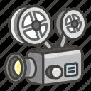 1f4fd, film, projector