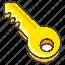 1f511, key icon