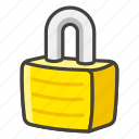 1f512, locked