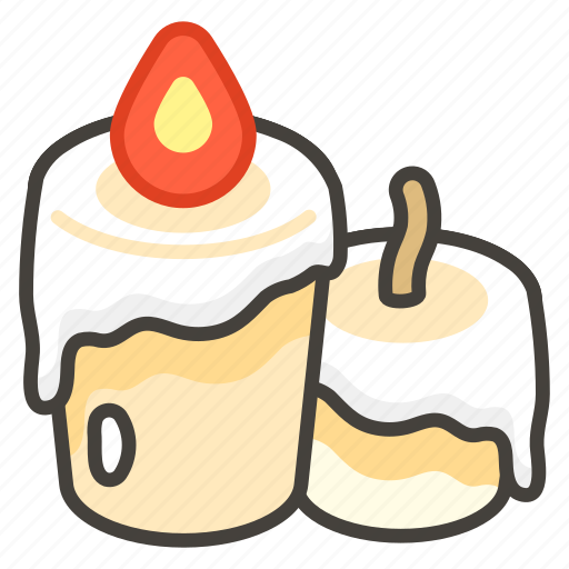 1f56f, candle icon