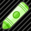 1f58d, crayon icon