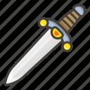 1f5e1, dagger icon