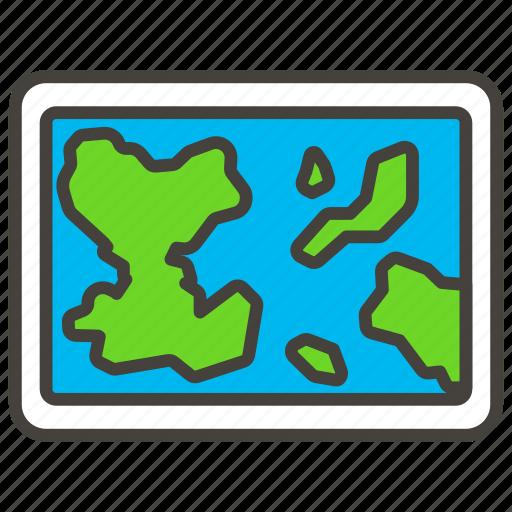 1f5fa, map, world icon
