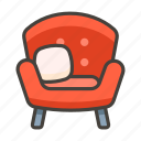 and, a, 1f6cb, lamp, couch icon