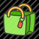 1f6cd, bag, c, shopping icon