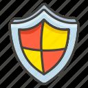 1f6e1, shield icon