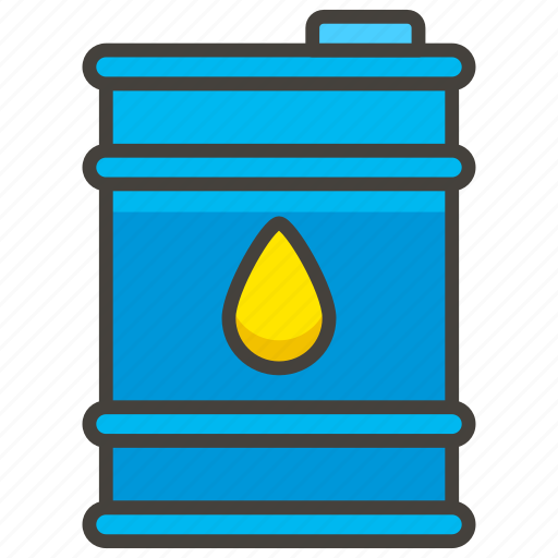 1f6e2, drum, oil icon