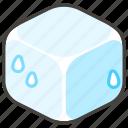1f9ca, a, cube, ice icon