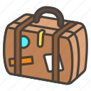 1f9f3, luggage icon