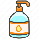 1f9f4, bottle, lotion icon