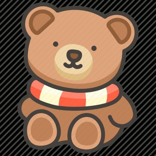 1f9f8, bear, teddy icon