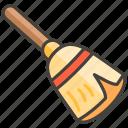 1f9f9, broom icon