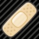 1fa79, adhesive, bandage icon