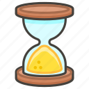 231b, done, hourglass icon