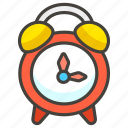 23f0, alarm, clock icon