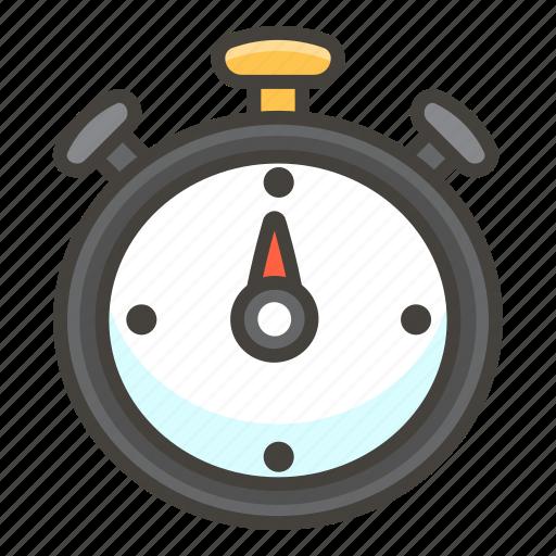 23f1, stopwatch icon