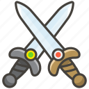 crossed, swords icon