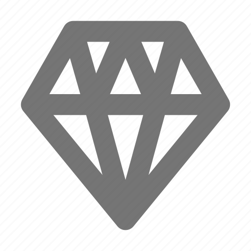 diamond, gem, jewel icon