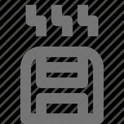 heater, heating, toaster icon