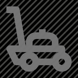 lawn mower, mower icon