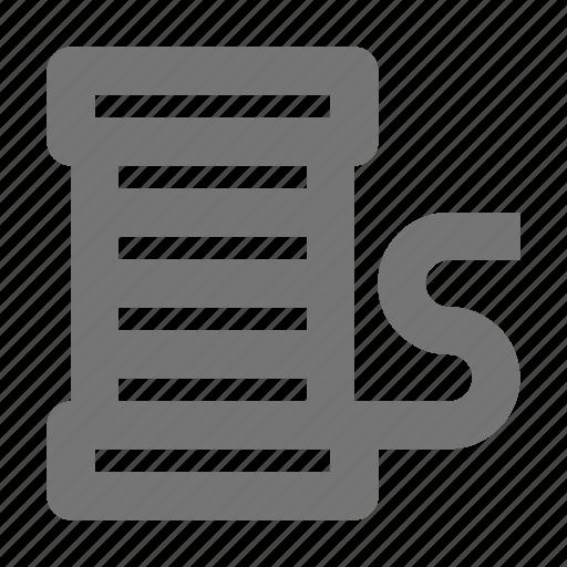 spool, thread icon