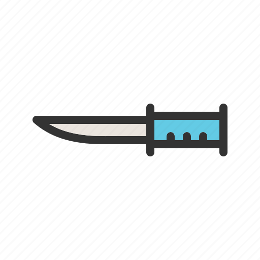 Armed, army, bowie, knife, military, sharp, weapon icon - Download on Iconfinder