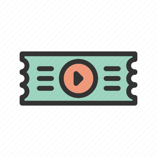 Cinema, coupon, entertainment, movie, ticket, tickets icon - Download on Iconfinder