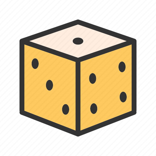 casino, chance, cube, dice, gambling, game, luck icon